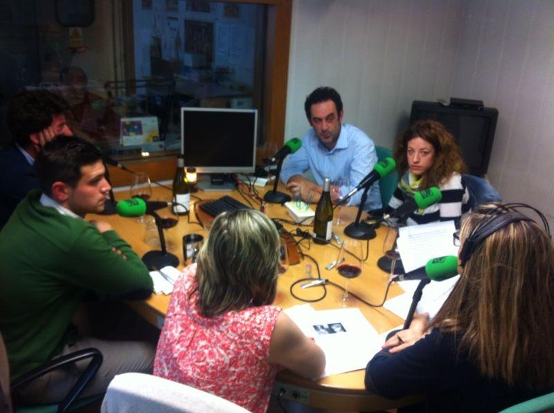 En miércoles estuvimos en Onda Cero, con Marisa y Fernando.